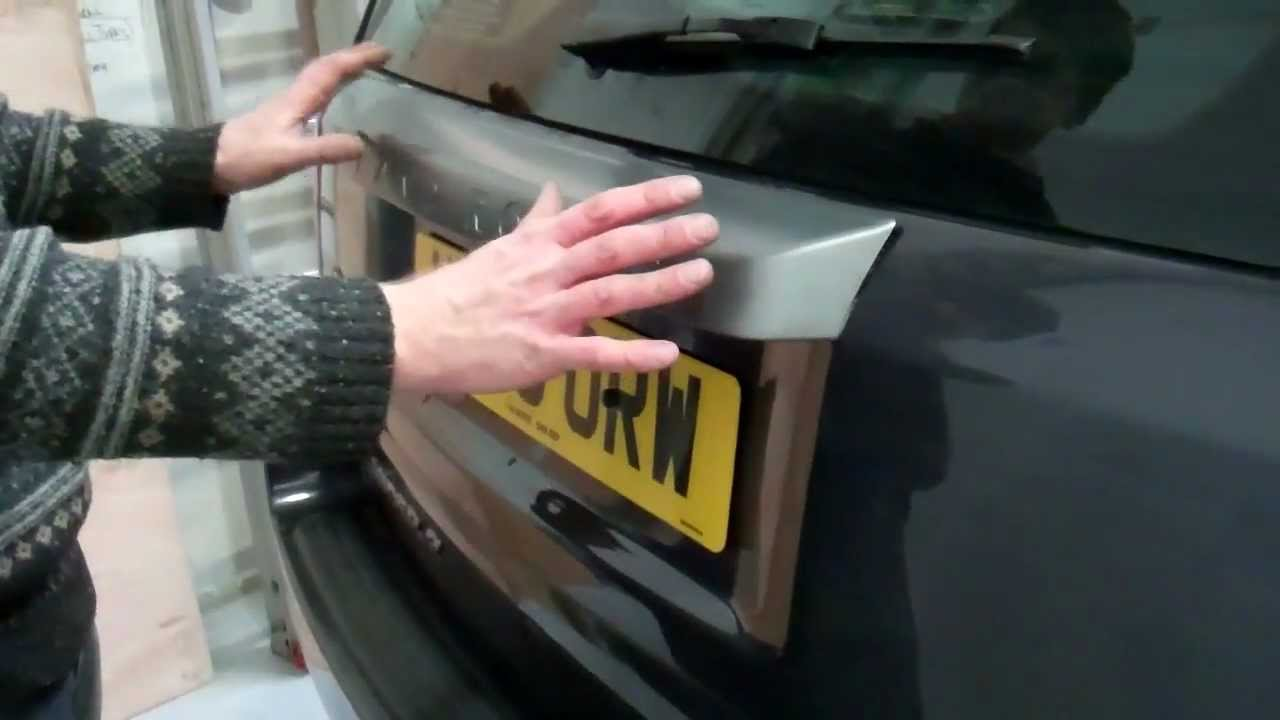 How To Remove The Rear Handle On Land Rover Freelander 2
