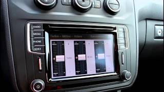 01 VW The New Caddy Infotainmentsystem Das Radio