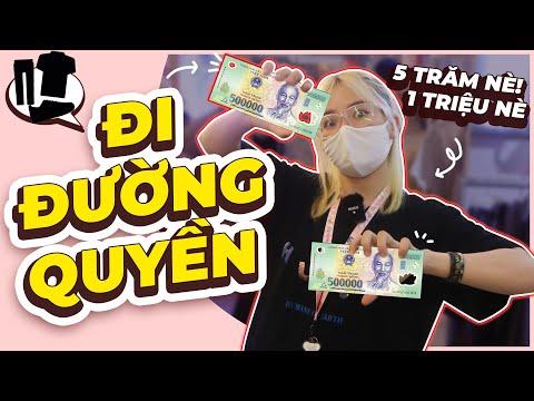 Thử Thách Cầm 1 Triệu Shopping Không Nhìn Giá II Mel TV