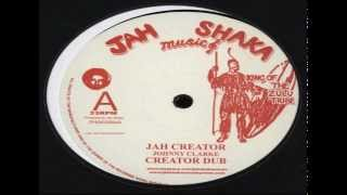 "Johnny Clarke-Jah Creator/Creator dub | Johnny Clarke-Blood dunza/Blood dub 12"" 45rpm"
