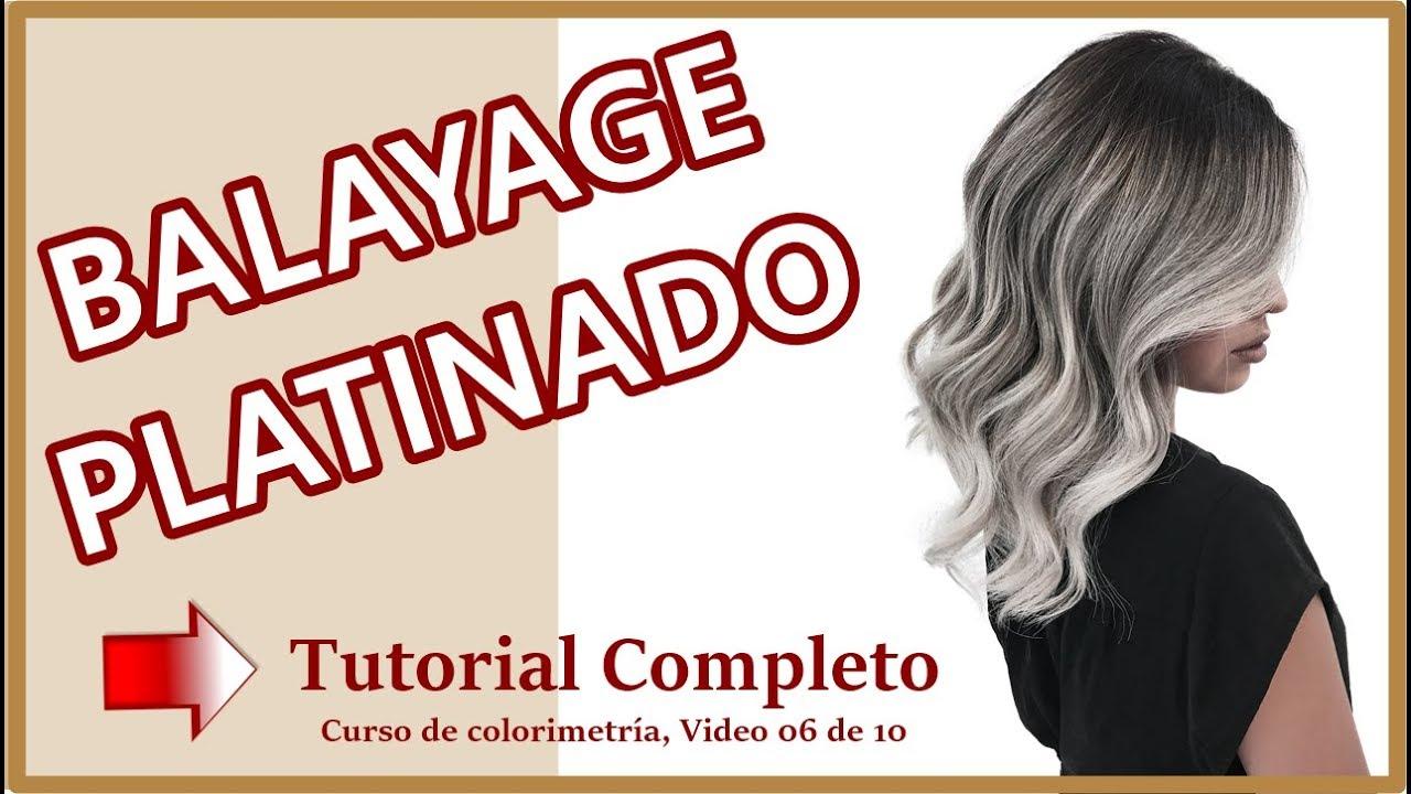 Download Balayage Platinado - Tutorial 4k - Curso de Colorimetría video 06 de 10
