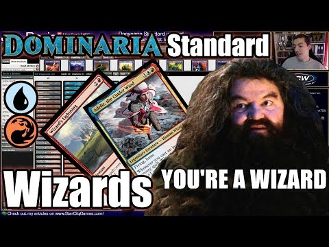 You're a Wizard Adeliz, the Cinder Wind! Izzet Wizards in Dominaria Standard