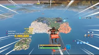 À travers la carte Fortnite en 5 secondes, je drôle Fortnite Flying Glitch Saison 10