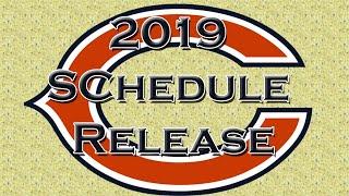 Bears Schedule Released-2019