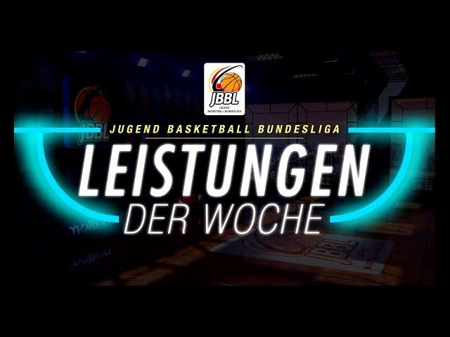 JBBL - Leistungen der Woche Spieltag 1