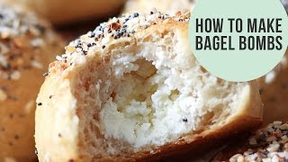 How to Make Bagel Bombs | Cream Cheese-Stuffed Bagel Balls