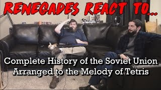 Renegades React to... Complete History of the Soviet Union, Arranged to the Melody of Tetris