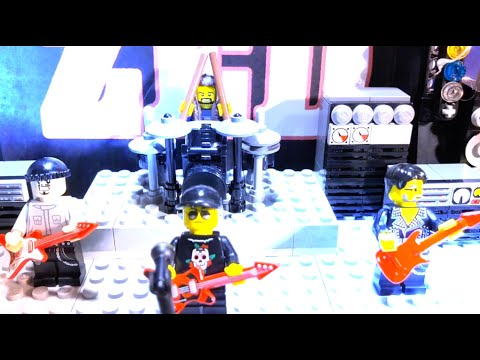 Nudge - Zed Chingus Lego Stop Motion Music Video