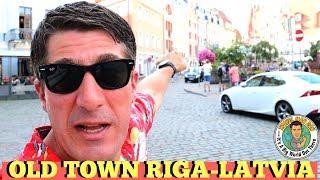 STUNNING WALK IN OLD TOWN RIGA LATVIA!!-TRAVEL MAN DAN