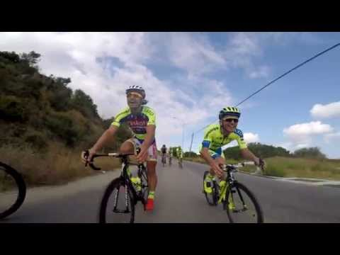 Rafal Majka and Peter Sagan have fun while training for the Vuelta - 20 Aug 2015