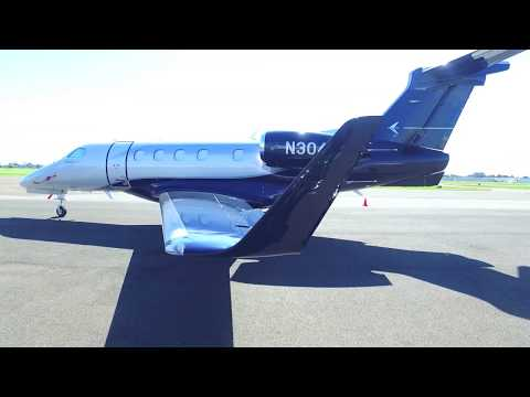 EMBRAER  Phenom 300E N304EE at the Hayward Executive Airport