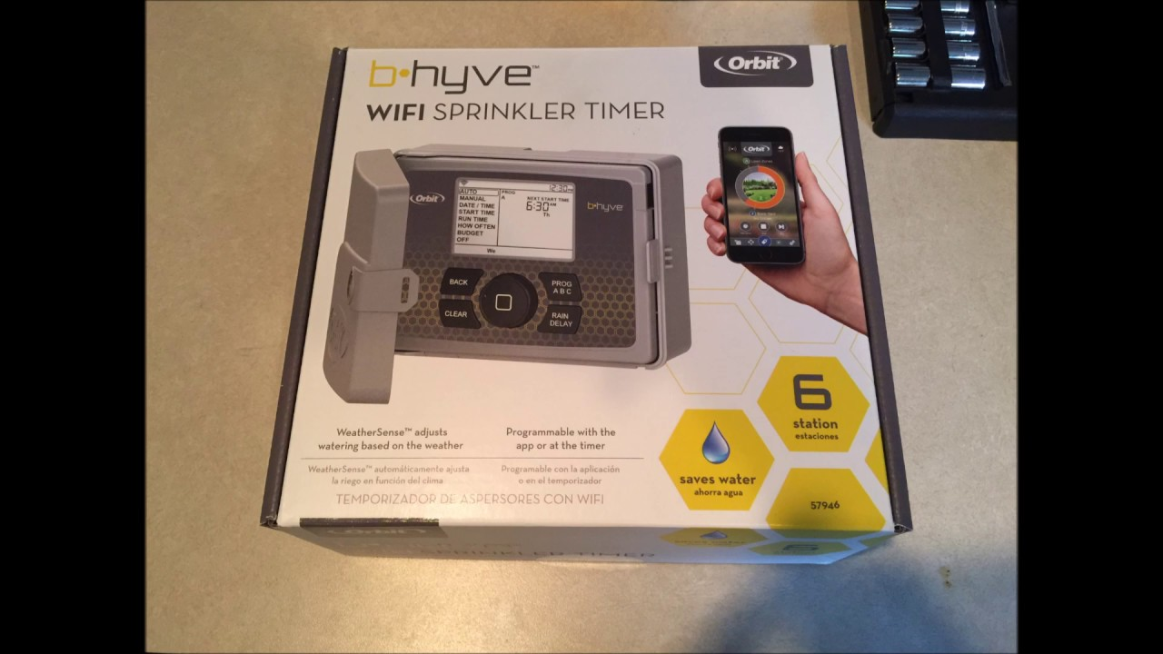 how to install orbit b hyve wifi sprinkler system controller [ 1280 x 720 Pixel ]