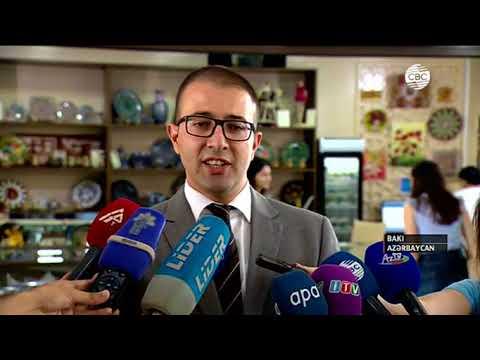 """Yeni """"ABAD"""" sərgi-satış mərkəzi fəaliyyətə başladı - CBC TV 22.08.2017"""