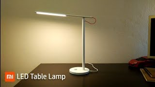 Xiaomi LED Smart Table Lamp REVIEW.
