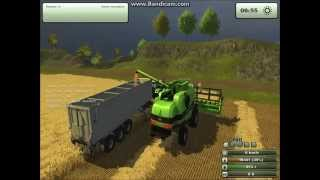 Koszenie zboża w Farming Simulator 2013-Świat Rolnictwa