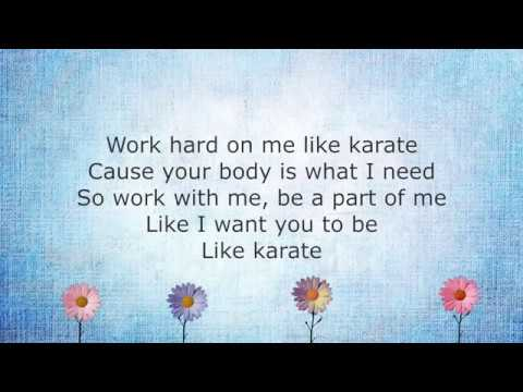 Anne Marie - KARATE (Lyrics)