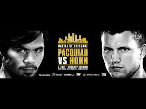 Jeff Horn-Manny Pacquiao decision was correct, independent WBO review confirms