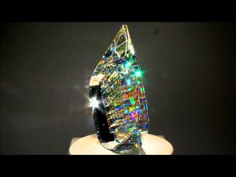 Optical Glass Sculptures by fine art glass artist Jack Storms - The Glass Sculptor
