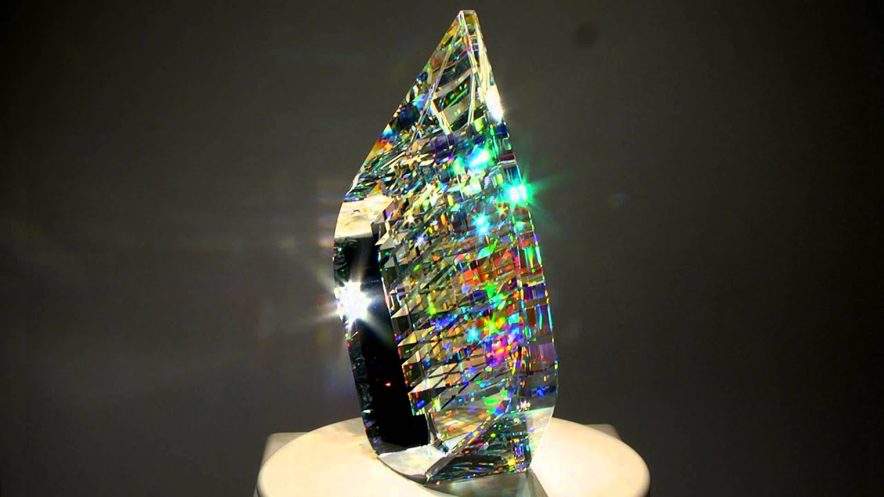 Optical Glass Sculptures by fine art glass artist Jack Storms - The Glass  Sculptor - YouTube