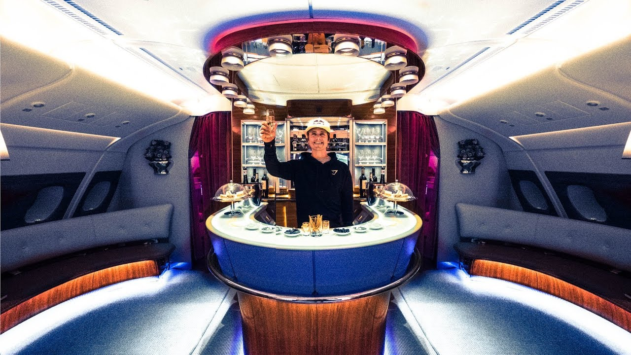 The Insane Emirates Business Class A380 Vlog 76 Youtube