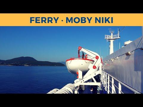 Passage on ferry MOBY NIKI, Piombino - Portoferraio (Moby Lines)