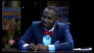 The King of Talk Hosts Evangelist Tope Alabi on the show