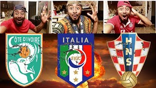 Italy, ivory coast & croatia miss 2018 world cup?  usa, netherlands, chile out of russia