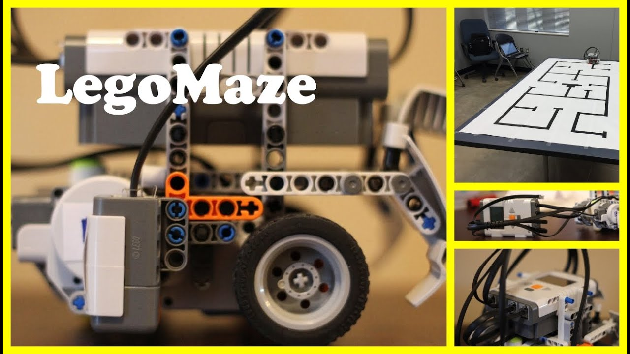 LegoMaze - LEGO Mindstorms Maze Solving Robot - YouTube