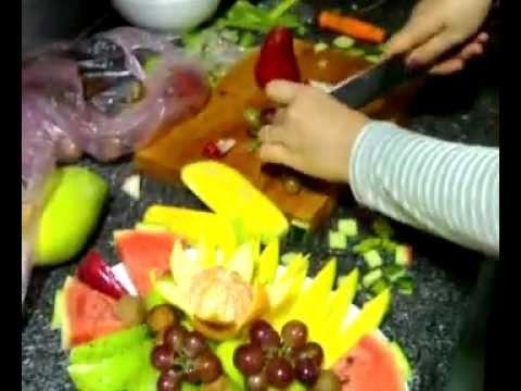 cách trang trí dĩa trái cây trong quán karaoke 05 Trần Bình Trọng