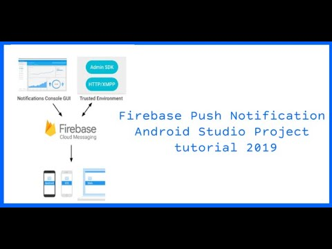 Firebase Cloud Messaging FCM  to Send Push Notification Android 2019