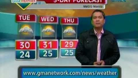 Saksi: Weather Update (August 20, 2012)