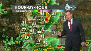Weather Alert Day: Strong to severe storms still possible today and tonight