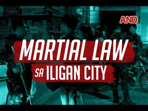 Martial Law sa Iligan City