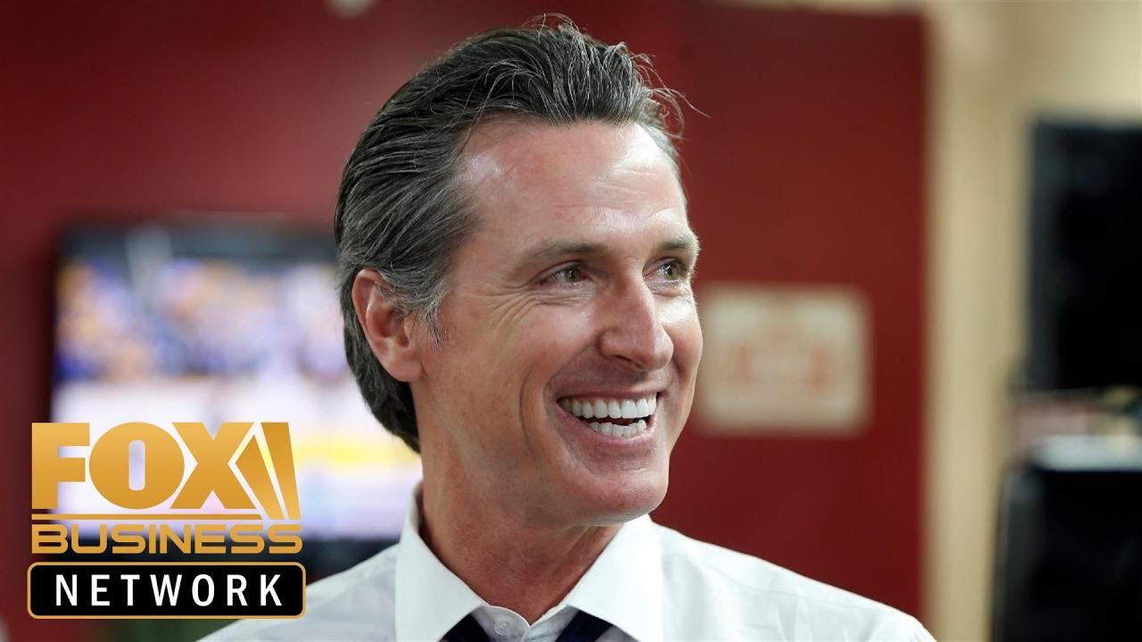 FOX Business - Varney & Company - California Gov. calls for more taxes despite surplus