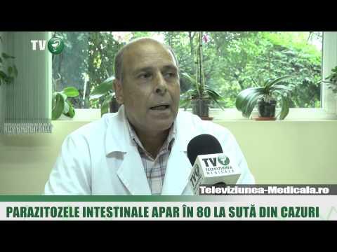 Parazitii intestinali apar in 80 la suta din cazuri