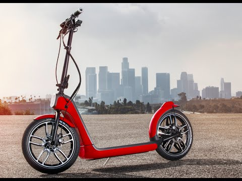 mini electric scooter how it works fold up electric mini. Black Bedroom Furniture Sets. Home Design Ideas
