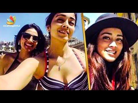 After Wedding, Shriya Saran's FIrst Vacation | Hot Tamil Cinema News
