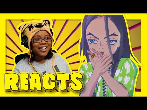 You Should See Me In A Crown by Billie Eilish   Animated Music Video Reaction