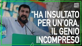 """Matteo Salvini Contro Renzi Alla Manifestazione Di Roma: """"sei Un Genio Incompreso"""""""