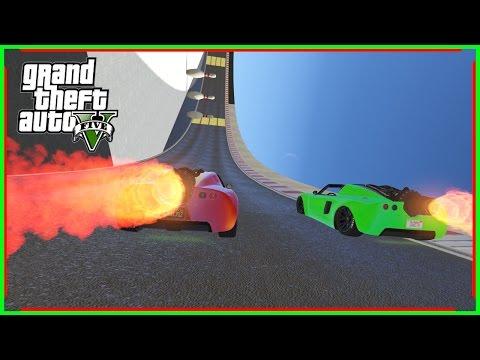 แข่งรถติดเทอร์โบ ที่แรงที่สุดในเกมส์ GTA V-(Funny Momap)
