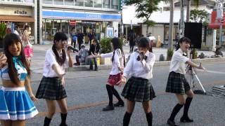 2013,5,5 沖縄のロコドル コラボ RYUKYU IDOL × 琉球QT-BLUE 17才 森高...