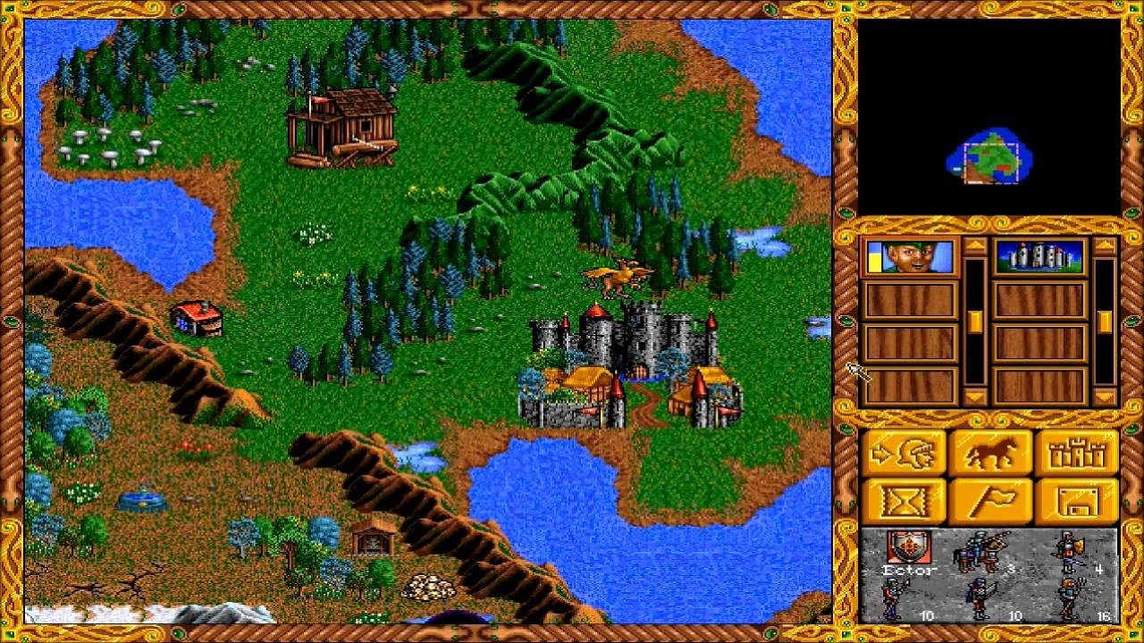 Rezultat iskanja slik za Heroes of Might & Magic 1 game