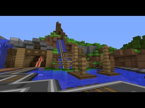 Minecraft - Splash Mountain