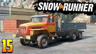 Прохождение SnowRunner #15   На что способен УРАЛ-4320 (он же Voron AE-4380)