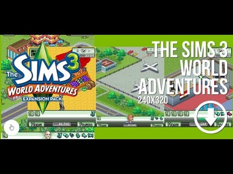 the sims 3 world adventures para celular youtube. Black Bedroom Furniture Sets. Home Design Ideas