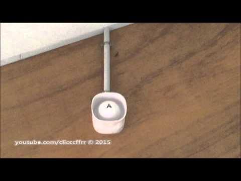 alarme incendie nugelec type 4 dans un batiment douches youtube. Black Bedroom Furniture Sets. Home Design Ideas