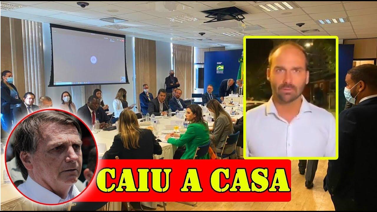 URGENTE - EXPULSÃO DA DEPUTADA É ANUNCIADA AGORA, EDUARDO BOLSONARO EXPLICA TUDO!