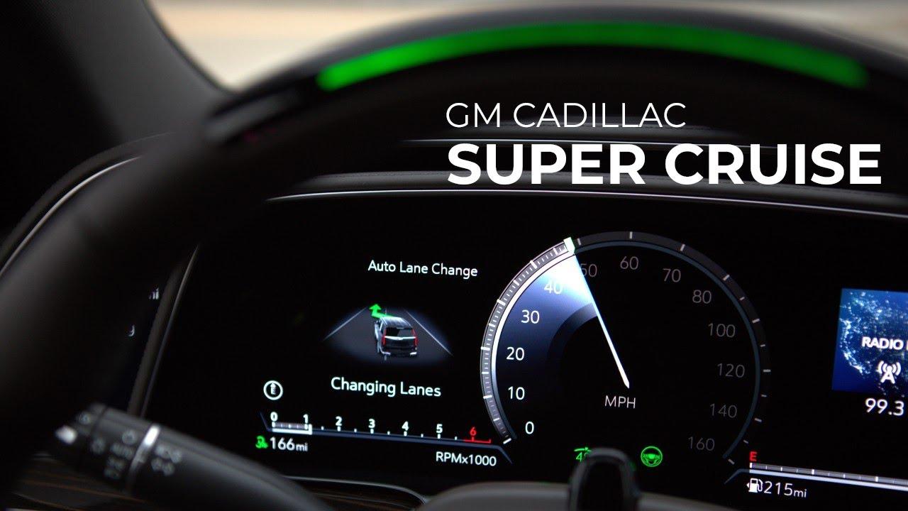 GM Super Cruise Adds Auto Lane Changes Like Tesla Autopilot