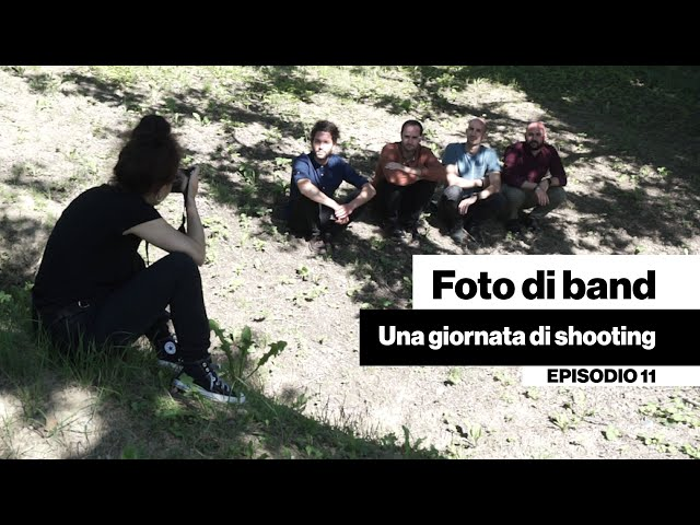 Foto di band - Una giornata di shooting [DENTRO LA BAND #11]
