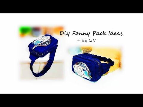 DIY BAG IDEAS~Lovely Fanny Pack Tutorial 【腰包教学】